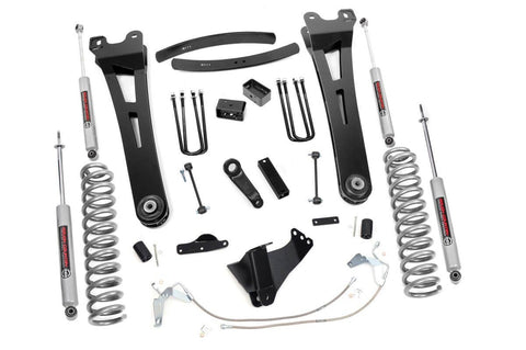 6in Ford Super Duty Radius Arm Suspension Lift Kit (Diesel)