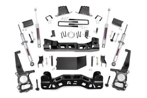 6in Ford Suspension Lift Kit | Lifted N3 Struts (11-13 F-150 4WD)