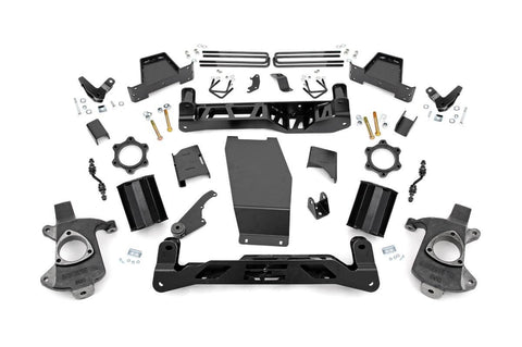 7in GMC Suspension Lift Kit (14-16 1500 Denali PU 4WD w/MagneRide | Aluminum)