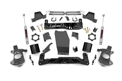 6in GM Suspension Lift Kit w/N3 (14-17 1500 PU 4WD | Aluminum/Stamped Steel)