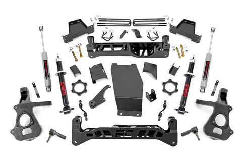 7in GM Suspension Lift Kit | Lifted Struts (14-18 1500 PU 4WD | Cast Steel)