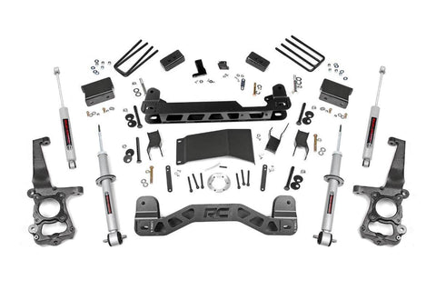 4in Ford Suspension Lift Kit | Lifted Struts (15-19 F-150 4WD)