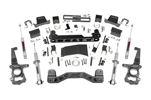 6in Ford Suspension Lift Kit | Lifted Struts (15-19 F-150 4WD)