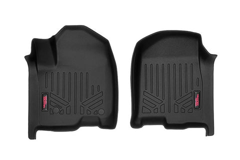 Heavy Duty Floor Mats [Rear] - (2019 Chevy Silverado / GMC Sierra Crew Cab)