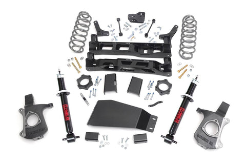 5in GM Suspension Lift Kit w/N2.0 Struts (07-13 Sub./Yukon XL)