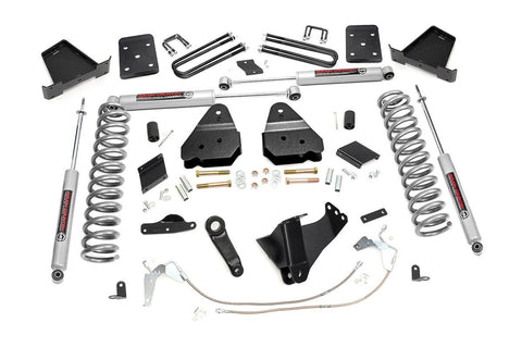 6in Ford Suspension Lift Kit (11-14 F-250 4WD | Diesel | No Overloads)