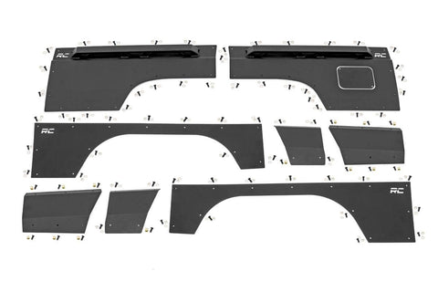 Jeep Front & Rear Upper and Lower Quarter Panel Armor - (97-01 Cherokee XJ)