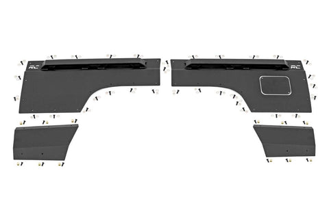 Jeep Rear Upper and Lower Quarter Panel Armor (97-01 Cherokee XJ)