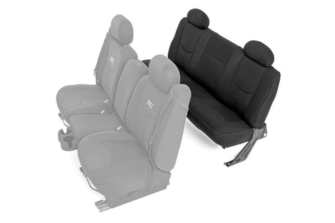GM Neoprene Rear Seat Cover | Black [99-06 Chevy 1500]