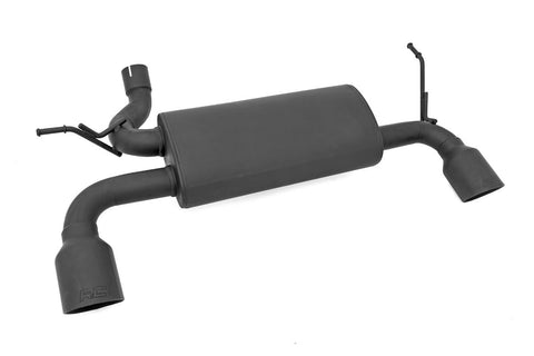 Jeep Dual Outlet Performance Exhaust | Matte Black Stainless Steel (07-18 Wrangler JK)