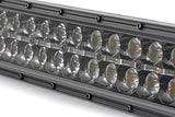 54-inch Curved Cree LED Light Bar - (Dual Row | Black Series w/ Cool White DRL))