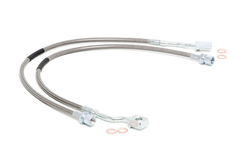 GM Extended Front Brake Lines | 5-7.5in Lifts (07-18 1500 PU/SUV)