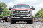 Ford 8in LED Grille Kit | Black Series (17-19 F-250 Lariat)