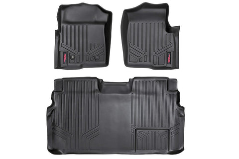 Heavy Duty Floor Mats [Front/Rear] - (09-10 Ford F-150 SuperCrew Cab)