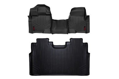 Heavy Duty Floor Mats [Front/Rear] - (15-19 Ford F-150 SuperCrew Cab)
