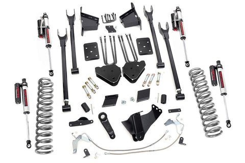 6in Ford 4-Link Suspension Lift Kit (11-14 F-250 4WD | Overloads)