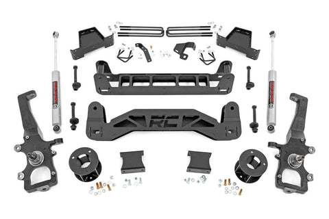 6in Ford Suspension Lift Kit | Strut Spacers (04-08 F-150 2WD)