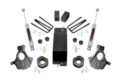3.5in GM Suspension Lift | Knuckle Kit (14-18 1500 PU 4wd | Aluminum & Stamped Steel)