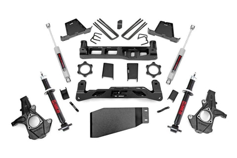 7.5in GM Suspension Lift Kit | Lifted Struts (07-13 1500 PU)