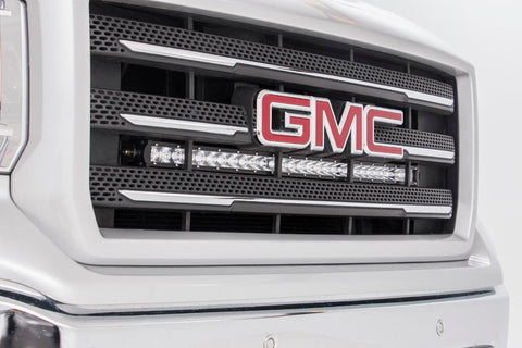 GM 30in Curved Cree LED Grille Kit | Single Row (14-18 Silverado/Sierra 1500)