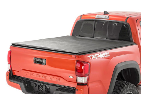 Toyota Soft Tri-Fold Bed Cover (16-19 Tacoma - 5' Bed w/Cargo Mgmt)