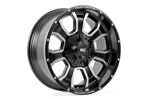 Rough Country One-Piece Series 93 Wheel, 20x9 (6x135)