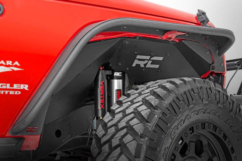 Jeep Front Inner Fenders | Vertex Shocks (07-18 Wrangler JK)