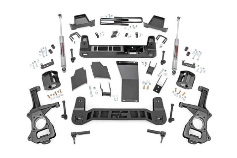 6in Suspension Lift Kit | Strut Spacers (2019 Chevy 1500 PU 4WD)
