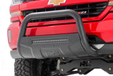 Dodge 09-18 Ram 1500 Bull Bar w/LED Light Bar (Black)