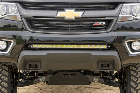GM 30-inch Single Row LED Hidden Bumper Mounts (15-19 Colorado/Canyon)