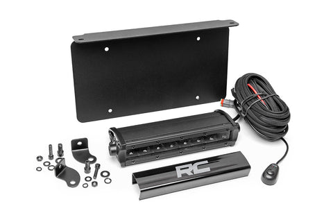 Universal 8in LED License Plate Kit | Black Series