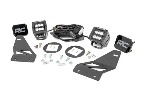 Nissan LED Fog Light Kit | Black Series (05-19 Frontier)
