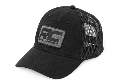 Rough Country Mesh Hat - Charcoal