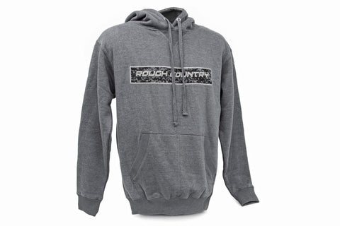 Rough Country Hoodie - Gray | Small