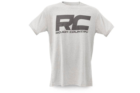 RC Grey Logo T-Shirt - Men | XXL
