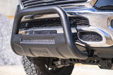 Ram 2019 1500 Bull Bar w/LED Light Bar (Black)