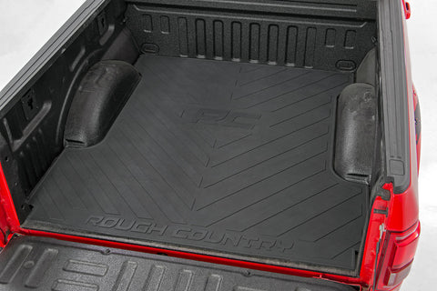 Ford Bed Mat | RC Logos (2017-2019 F-250/350 | 8' Bed)