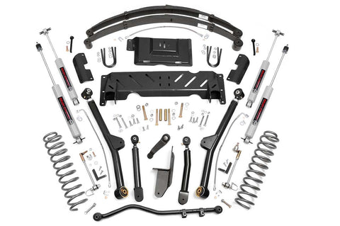 4.5in Jeep Long Arm Suspension Lift System (84-01 XJ Cherokee - 2.5L/4.0L/NP242)