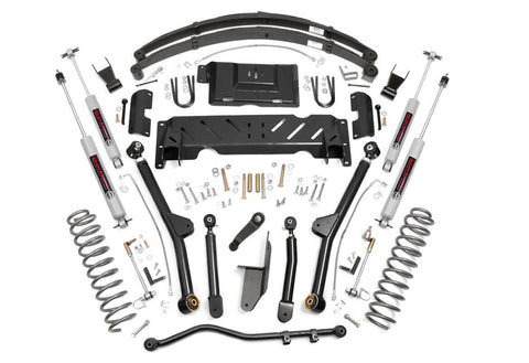 6.5in Jeep Long Arm Suspension Lift System (84-01 XJ Cherokee - 2.5L/4.0L/NP231)