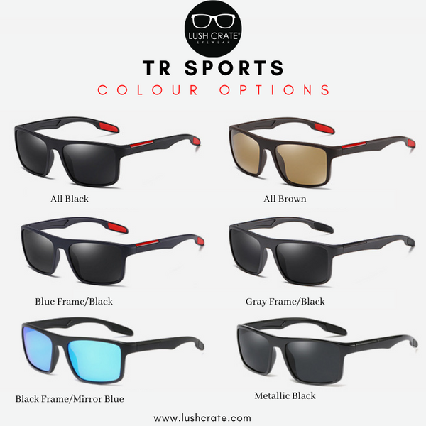 TR Sport Polarized Sunglasses Color Option