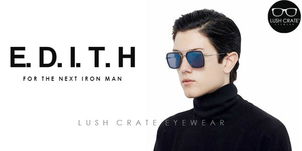Edith Sunglasses Iron Man Spiderman Far From Home - Lush Crate Eyewear