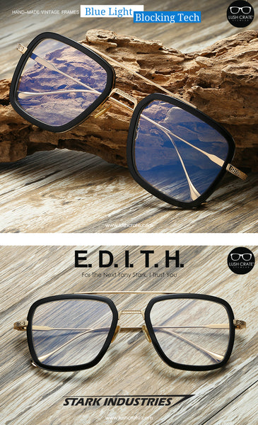 Edith Blue Light Blocking Glasses Lush Crate Eyewear