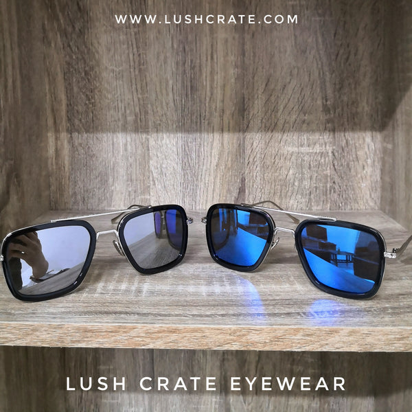 Edith Sunglasses Mirrored Lens Reflective - Lush Crate