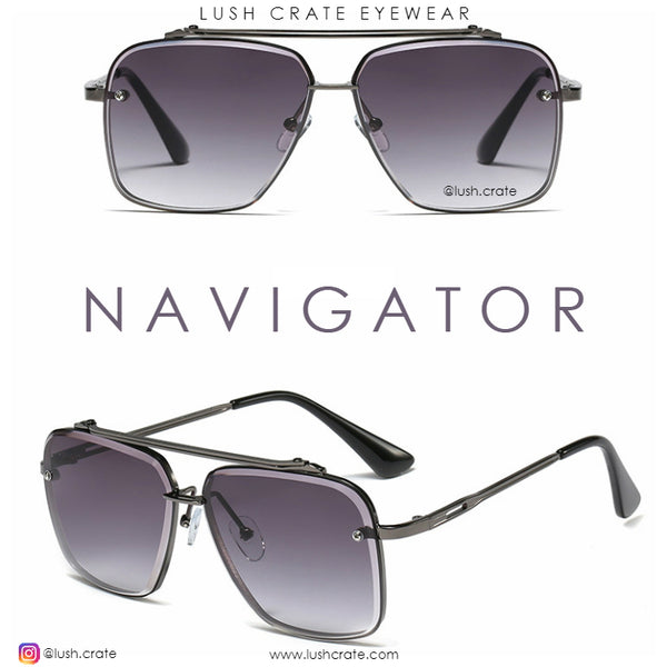 Luxury Navigator Sunglasses-Lush-Crate-Men-Women-Summer-Accessories-Hot-Selling