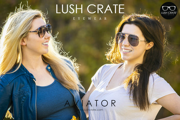 Mach Aviator Sunglasses Lush Crate