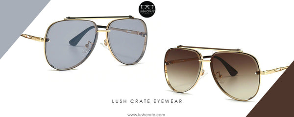 Mach Aviator Metal Sunglasses Above All Lush Crate