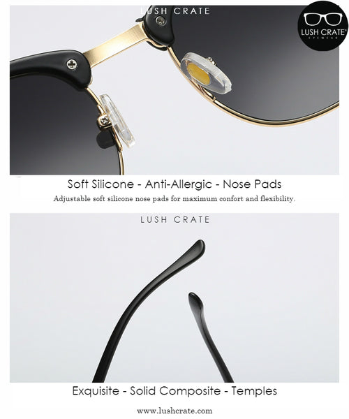 Polarized Modern Vintage Sunglasses Detailed Description