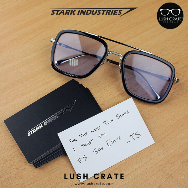 Stark Industries Business Name Card
