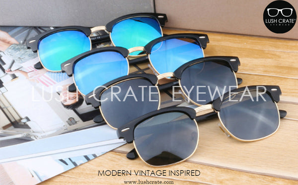 Giorno Classic Polarized Vintage Sunglasses Lens Color