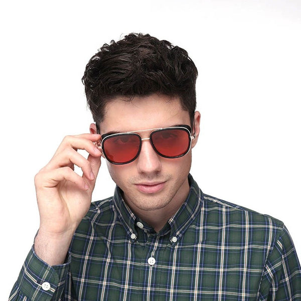 Iron Man 3 Tony Stark Sunglasses Retro Vintage Style - Lush Crate